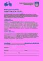 """Mitgliederinfo Nr. 93 - Anhang 1 """"Radreise"""""""