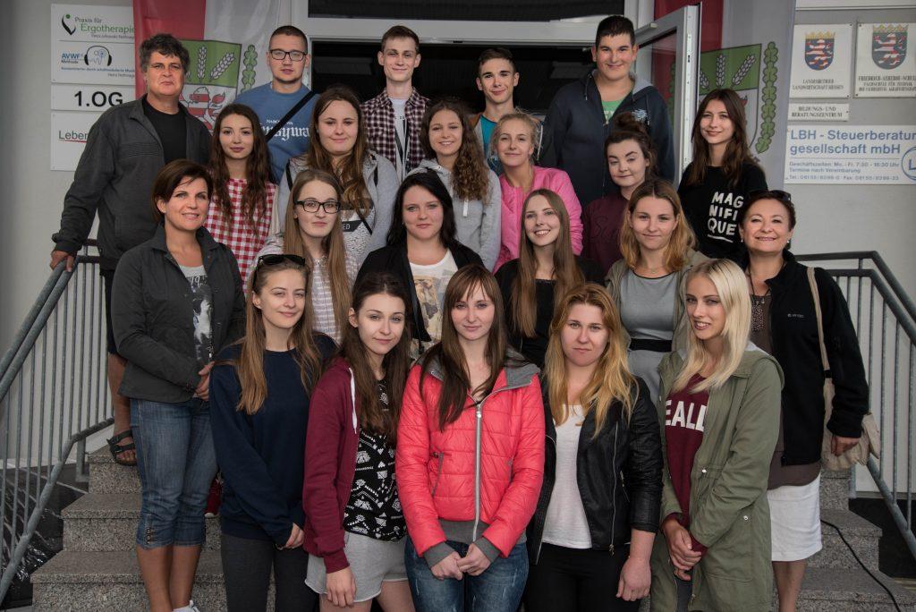 Schüleraustausch Namyslow 2016
