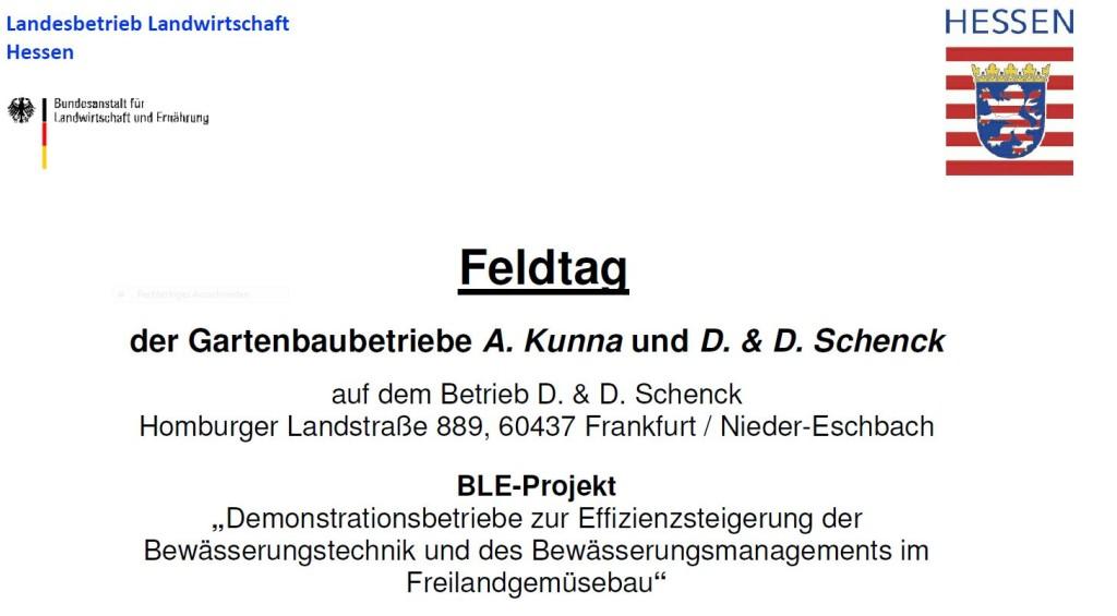 Feldtag BLE-Projekt 04.08.15.1