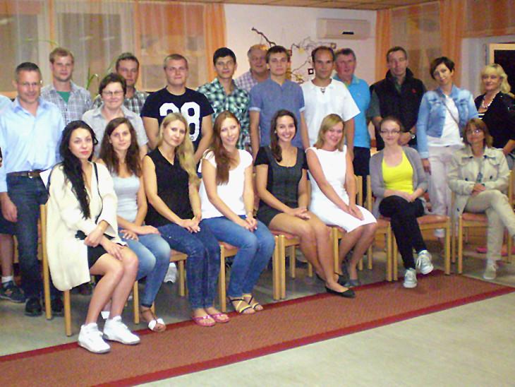 Studenten aus Allenstein zu Besuch in Starkenburg