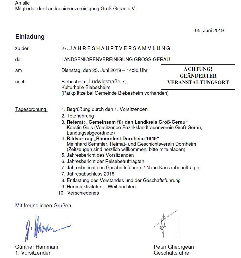 Landsenioren Vereinigung Groß-Gerau e.V.