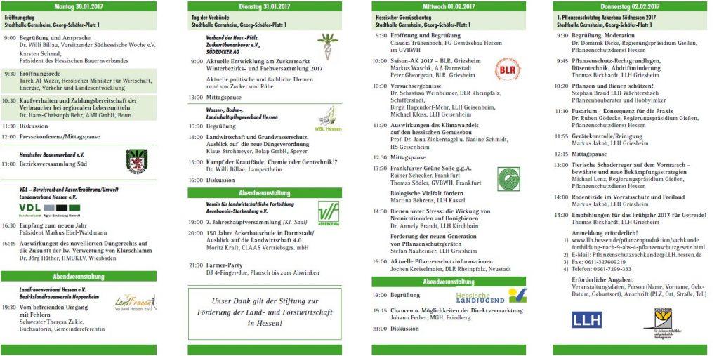 62. Landwirtschaftliche Woche Südhessen