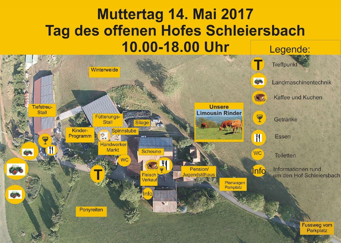 Tag des offenen Hofes Schleiersbach, Familie Böhm