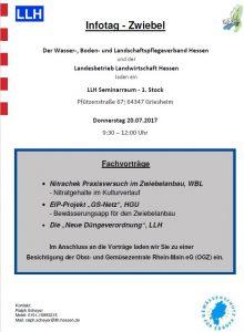 LLH Infotag - Zwiebel, 20.07.2017