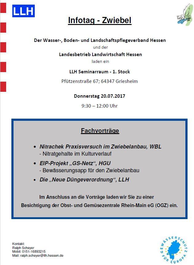 LLH Infotag - Zwiebel