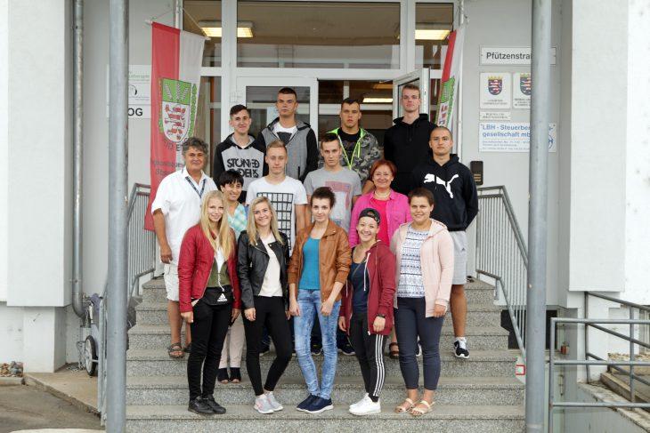 Praktikanten zu Gast beim RBV Starkenburg
