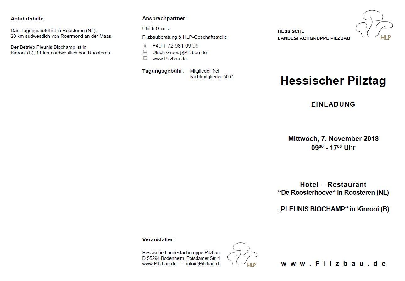 Hessischer Pilztag 2018