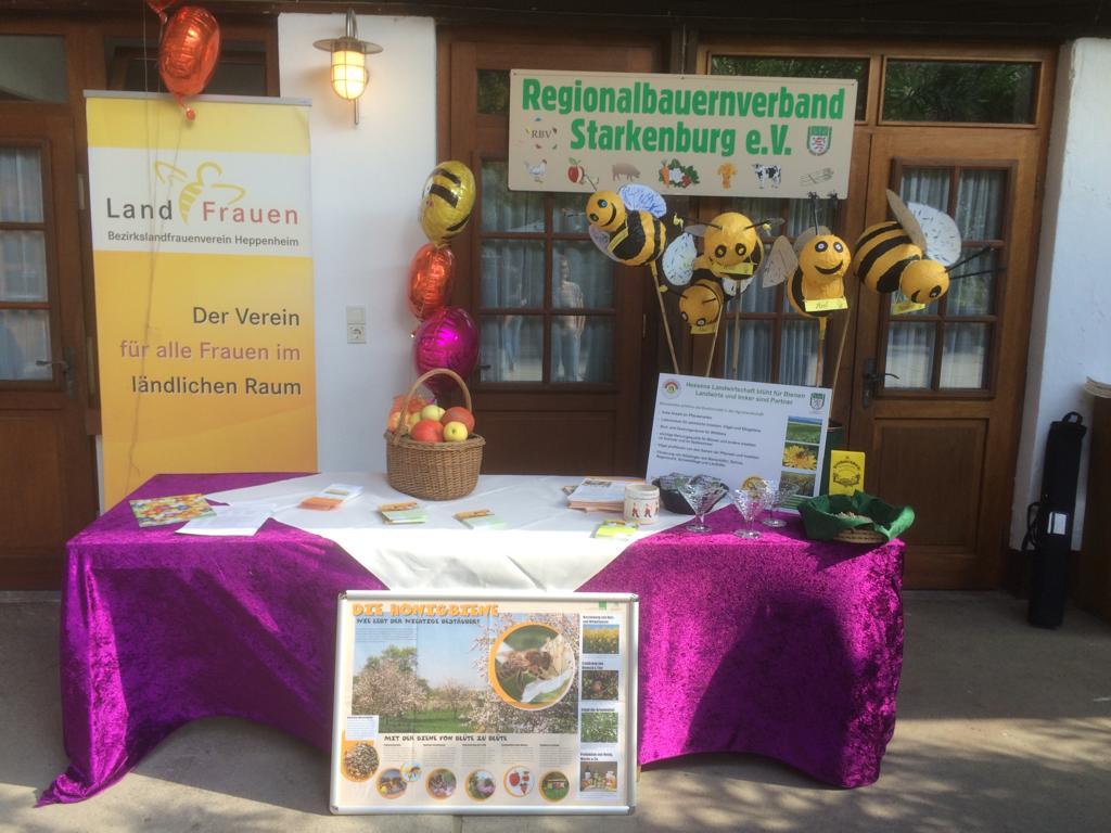 """""""RBV Bienen"""" auf dem Tag der Regionen"""