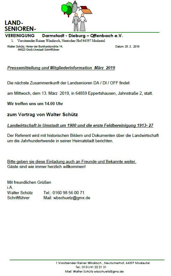 Landseniorenvereinigung Darmstadt Dieburg Offenbach e.V.