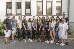 Praktikumsbeginn für Schüler aus Namyslow