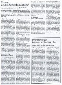 Hessenbauer berichtet über Veränderungen im LRVV Reichelsheim