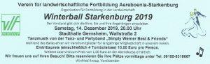 VLF Aereboenia-Starkenburg lädt zum Winterball