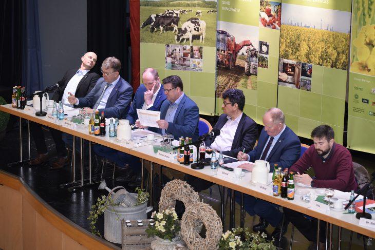 Landwirtschaftliche Woche Südhessen mit heftigen Diskussionen