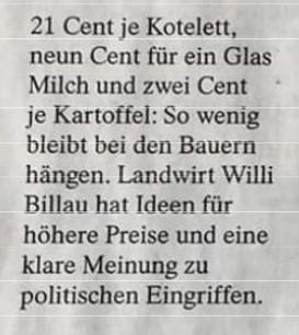 """""""Staatliche Festpreise brauchen wir nicht"""""""