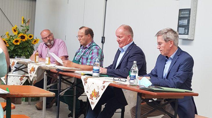 HBV-Erntegespräch in Lampertheim