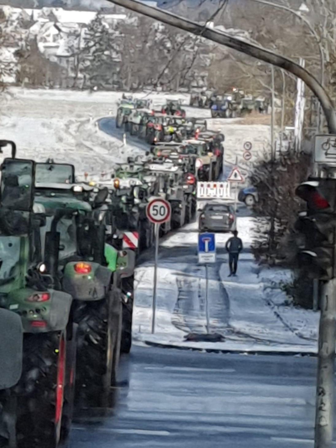 Starkenburg unterstützt Protestaktion in Gießen