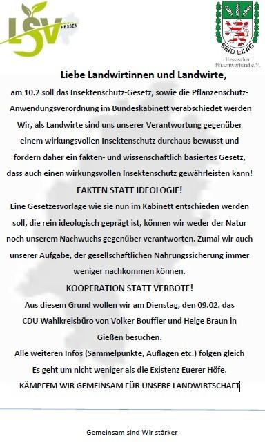 API Demo am 09.02 in Gießen