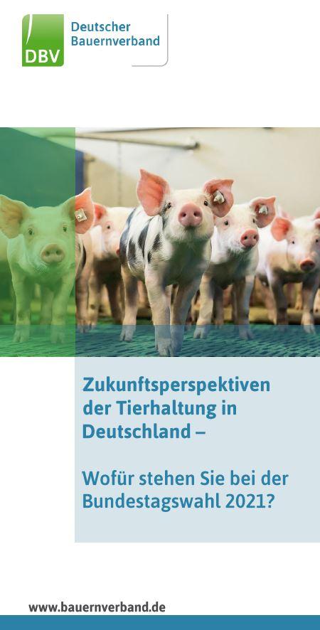 Zukunftsperspektiven der Tierhaltung - wofür stehen Sie bei der Bundestagswahl 2021?